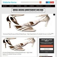 Established LADIES SHOES STORE Online Business Website For Sale, Free Domain ++