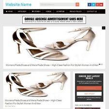 Established LADIES SHOES STORE Online Business Website For Sale, Free Domain ++