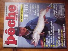 $$ Revue peche et les poissons N°632 ablette  amorces  Naudeau  barque  Drachkov