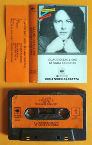 MC Musicassetta CLAUDIO BAGLIONI Strada Facendo Italy Pop 1981 no lp cd vhs dvd