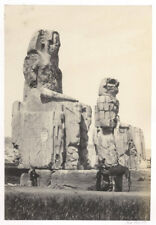 1857 FRITH  PHOTO EGYPT - THE STATUES OF MEMNON