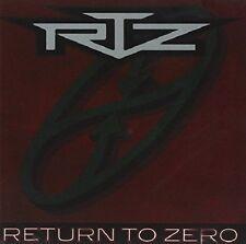 Return to Zero by RTZ (CD, Jul-1991)( Used Like New. Never Open)