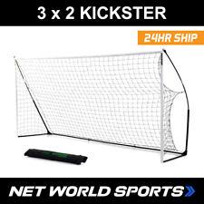 Kickster Football Goal 3m x 2m FUTSAL. Portable goal post, durable & strong