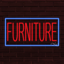 "Brand New ""Furniture"" w/Border 37x20X1 Inch Led Flex Indoor Sign 31076"