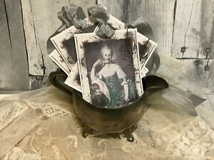 Marie Antoinette Shabby Nordic CHARM Jeanne d Arc Living Style Gift Tags 8