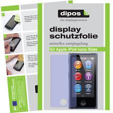 2x Apple iPod Nano Slate 7g Pellicola Protettiva Proteggi Schermo Opaco Anti Reflex