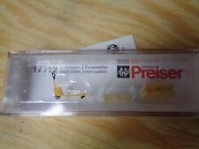 H0 PREISER 17712 transpallet, 3 europaletten. Accessori conf. orig.