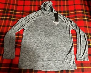 Under Armour Men's Project Rock Tech Hooded Long Sleeve Shirt 2.0 Size L NEW C3