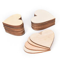 50pcs/Lot Colorful Mixed Heart Wooden Buttons Sewing Scrapbooking WC