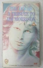 (PRL) VIDEOCASSETTA VHS CASSETTE THE DOORS A TRIBUTE TO JIM MORRISON