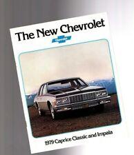 1979 Chevy CAPRICE CLASSIC / IMPALA Brochure/Catalog: Station Wagon,Landau,