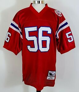 Vtg 1985 Mitchell & Ness Throwback New England Patriots Andre Tippett Jersey XXL
