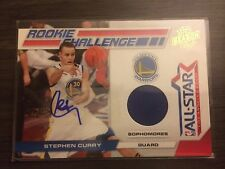 2011 Panini Rookie Challenge Stephen Curry AUTO #7 of 25 (Game Worn Material)
