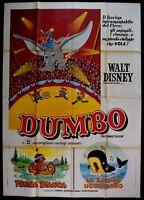 M173 Manifesto 4F Dumbo Walt Disney Animation Zeichentrickfilm Zirkus Elefant