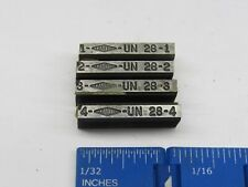 2 Sets of 4 AVAILABLE LANDIS OR LANDIS TYPE CHASER HOLDERS 9//16-1 N.C