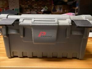 Plano 761 Plastic Toolbox, Gray