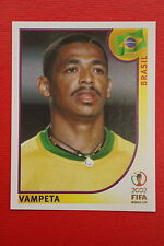 PANINI KOREA JAPAN 2002 # 178 BRASIL VAMPETA WITH BLACK BACK MINT!!!