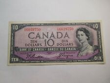 N3 Canada Bank of Canada 1954 Devil's Face $10 VF