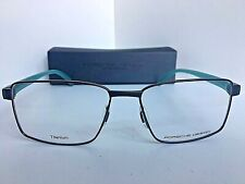 New PORSCHE DESIGN P 8271 P8271 B 55mm Titanium Rx Men's Eyeglasses Frame Japan
