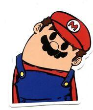 MARIO BROS Nintendo console jeu sticker 7 x 6 cm