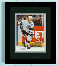 WAYNE GRETZKY SIGNED JSA COA 8X10 PHOTO AUTO AUTOGRAPHED FRAMED & DOUBLE MATTED