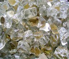 """4Lbs ~1/2"""" GOLD REFLECT FIREGLASS Fireplace FirePit Glass"""