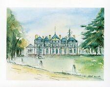 DRAVEIL - Carte postale couleurs neuve - Château de Paris-Jardins + M. LAMBERT