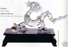 SWAROVSKI SILVER CRYSTAL DRAGON-FABLES & TALES 238202  MINT IN BOX