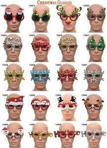 Sunglasses Novelty Photo Props Booth Xmas Fancy Dress Christmas Party Fun Games