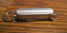 Unbranded Key Chain Lighter w/ Knife & Scissors - NEW