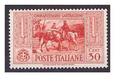 REGNO 1932 - GARIBALDI  Cent. 30  NUOVO *