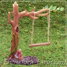 New Vivid Arts Miniature World Plus Size - Fairy Leaf Swing -Model Village -19cm