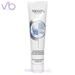 NIOXIN Thickening Gel With Pro-Thick 150ml - Volume, No Build Up, Alcohol FREE