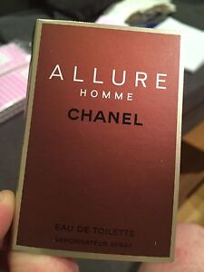 Chanel Allure Homme EDT Travel Size 1.5ml.