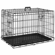 Pet Cage 24 Inch Dog Animal Crate Home Folding Door Training Kennel