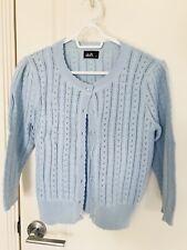 Dotti Blue Cardigan Size Medium Brand New