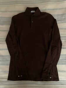 The Armoury x Ascot Chang Long-Sleeved Brown Polo Size S