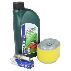 Service Kit Fits HONDA GX140, GX160, GX200 Air Filter, Spark Plug, Oil