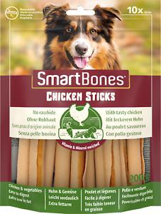 SmartBones Chicken SmartSticks Dog Treat 10 PP Healthy Dog Treat No Rawhide