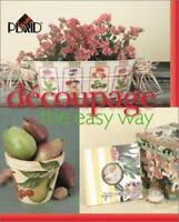 Decoupage the Easy Way Hardcover Plaid