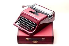 OLIVETTI STUDIO 44 mint condition- merlot / maroon- mint condition