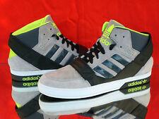 Adidas Originals Defensor de Pista Dura Higt-Top Sneaker Gris/Negro/Amarillo