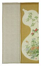 JAPANESE Noren Curtain NEW HYOUTAN NEW MADE IN JAPAN