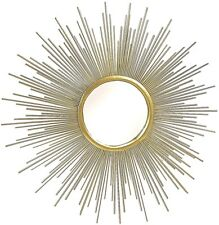 SUPERB  1 meter diameter SUNBURST starburst GOLD  MIRROR   NEW