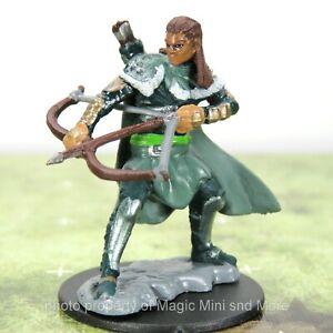 D&D Premium Miniatures W4 ~ HUMAN RANGER Icons of the Realms miniature
