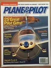 Plane &  Pilot Great Gifts Cessna TTx Survive Hypoxia Dec 2014 FREE SHIPPING!