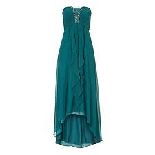 Vera Mont Abendkleid Lang GRÜN 25705000 Hochzeit Festmode Abiball Festkleid