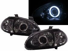 DEL SOL CRX 1993-1997 Roadster 2D CCFL Projector Headlight Black for HONDA LHD