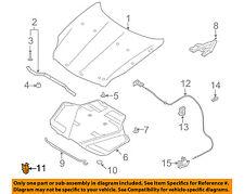 Infiniti NISSAN OEM 03-07 G35 Hood-Support Prop Rod Clamp Clip Holder 65722AL505