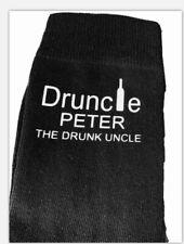 PERSONALISED NOVELTY  DRUNCLE ...UNCLE SOCKS BIRTHDAY / CHRISTMAS GIFT ...